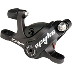 TRP Spyke Mechanical Post-Mount Caliper for long-pull levers, without rotor, Black