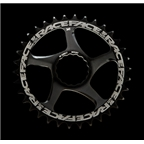 RaceFace CINCH Direct Mount Steel Narrow Wide Chainring, 30t Black