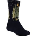 SockGuy Wool Camper Sock: Black