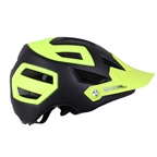O'Neal Pike Enduro Helmet, Black/Yellow - S/M (55-58cm)