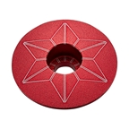 Supacaz Red Anodized Star Cap