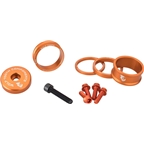 Wolf Tooth Components BlingKit: Headset Spacer Kit 3, 5,10, 15mm, Orange