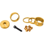 Wolf Tooth Components BlingKit: Headset Spacer Kit 3, 5,10, 15mm, Gold