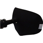Bar Mitts Dual Position Road Pogie Handlebar Mittens: Internally Routed Campagnolo/SRAM/Shimano, One Size, Black