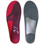 SQlab 214 Low Arch Insole, 46.5-48.5 - Red