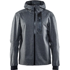 Craft Ride Women's Rain Jacket: Black