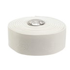 Cinelli 3D Volee Rubberized Handlebar Tape, White