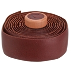 Cardiff Genuine Leather Handlebar Tape, Brown