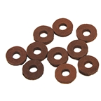 Cardiff Leather Washers - Brown, Bag/10