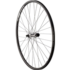 Quality Wheels Rear Pavement Rim 700c 135mm QR 32h Shimano LX T670 Sil / Alex DC19 Blk / DT Competition Blk / Sil Brass