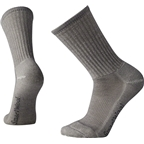 Smartwool Hike Light Men's Crew Sock: Light Gray