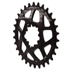 Gamut Spiderless GXP Direct Mount Chainring, 30T - Black