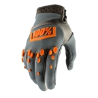 100% Airmatic Glove, Gray