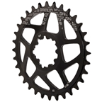 Gamut Spiderless GXP Direct Mount Chainring, 32T - Black
