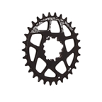 Gamut Spiderless BB30 Direct Mount Chainring, 30T - Black