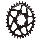 Gamut Spiderless BB30 Direct Mount Chainring, 32T - Black
