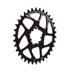 Gamut Spiderless BB30 Direct Mount Chainring, 34T - Black