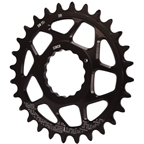 Gamut Spiderless Cinch Direct Mount Chainring, 28T - Black