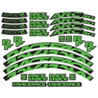 RaceFace Decal Kit for Arc 24 Rims and Aeffect SL 24 Wheels, Green