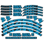 RaceFace Decal Kit for Arc 24 Rims and Aeffect SL 24 Wheels, Blue