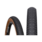 WTB Riddler TCS Light Fast Rolling Tire: 700 x 45, Folding Bead, Tan Sidewall