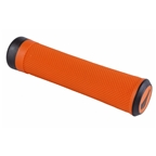 SDG Slater Lock-On MTB Grips - Orange/Black