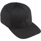 Surly Logo Baseball Cap: Black/Black