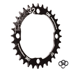 OneUp Components 104 Round Chainring, 104BCD 32T - Black