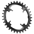 OneUp Components Switch Oval Chainring, 32T - Black
