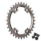 OneUp Components XTR M9000 Round Chainring, 96BCD 32T - Grey