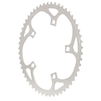 Vuelta Flat Road Chainring,130BCDx52T - Silver