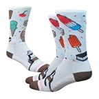 "DeFeet Aireator 6"" iSCREAM (white/brown/pink) 7-9"