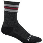 "Surly Trip-L Strpe 5"" Sock: Black/Gray/Red"