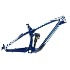 "NS Bikes Snabb-Carbon 27.5"" Frame (with Shock), M Black/Blue"