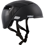 Kali Protectives City Helmet: Solid Matte Black SM/MD