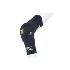Fuse Protection Omega Elbow Pad: Black/Neon Yellow Pair