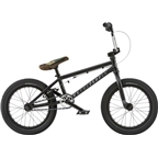 "We The People Seed 16"" 2018 Complete BMX Bike 16"" Top Tube Matte Black"