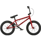 "We The People Seed 16"" 2018 Complete BMX Bike 16"" Top Tube Red"