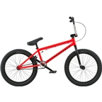 "We The People Nova 20"" 2018 Complete BMX Bike 20"" Top Tube Neon Red"