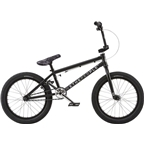 "We The People Curse 18"" 2018 Complete BMX Bike 18"" Top Tube Matte Black"