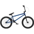 "We The People Arcade 20"" 2018 Complete BMX Bike 20.5"" Top Tube Translucent Blue"