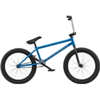 "We The People Justice 20"" 2018 Complete BMX Bike 20.75"" Top Tube Matte Metallic Blue"