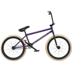 "We The People Reason 20"" 2018 Complete BMX Bike 20.75"" Top Tube Matte Translucent Purple"