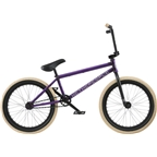 "We The People Reason Freecoaster 20"" 2018 Complete BMX Bike 20.75"" Top Tube Matte Translucent Purple"