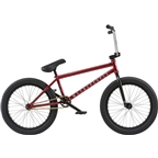 "We The People Crysis 20"" 2018 Complete BMX Bike 20.5"" Top Tube Metallic Red"
