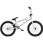 "We The People Versus 20"" 2018 Complete BMX Bike 20.65"" Top Tube Glossy White"