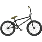 "We The People Zodiac RHD Freecoaster 20"" 2018 Complete BMX Bike 20.75"" Top Tube Matte Black"