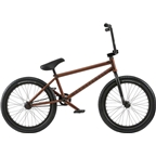"We The People Zodiac LHD Freecoaster 20"" 2018 Complete BMX Bike 20.75"" Top Tube Translucent Brown"