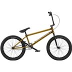 "We The People Volta 20"" 2018 Complete BMX Bike 21.15"" Top Tube Translucent Honey Gold"