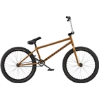 "We The People Audio 22"" 2018 Complete BMX Bike 21.9"" Top Tube Black Copper"